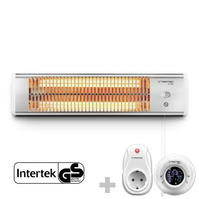 Calefactor por radiacion infrarrojo IR 1200 S + Enchufe inalámbrico BN35R