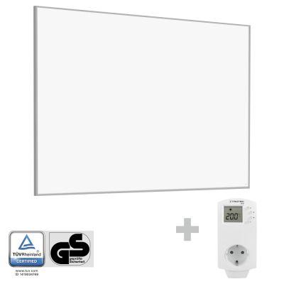 Panel calefactor infrarrojo TIH 1100 S + Enchufe-Termostato BN30