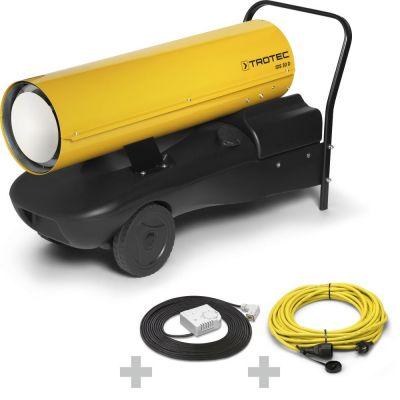 Calefactor de gasoil IDS 30 D + Cable de extensión profesional + termostato