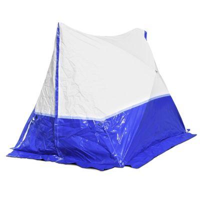 Tienda 180 TE  180*180*170 techo inclinado en azul