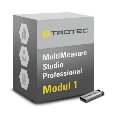 Software MultiMeasure estudio PRO-Módulo 1 para la detección de fugas, diagnóstico de obras/moho