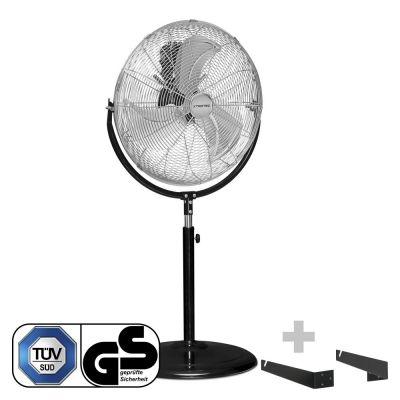 Ventilador de pie TVM 18 S + Soporte de pared y techo