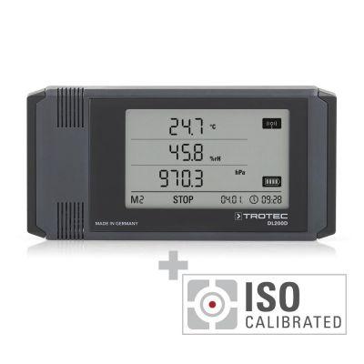 Registrador de datos DL200D - Calibración ISO I.2101