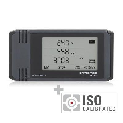 Registrador de datos DL200D - Calibración ISO I.2102