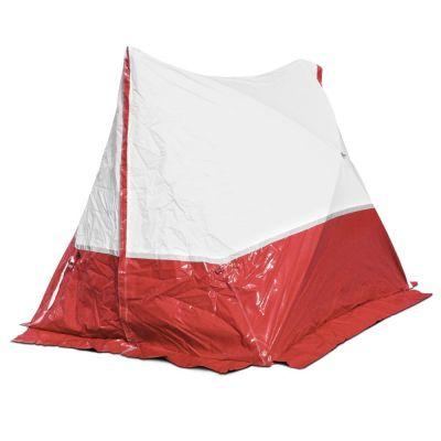 Tienda 250 TE 250*200*190 techo inclinado en rojo