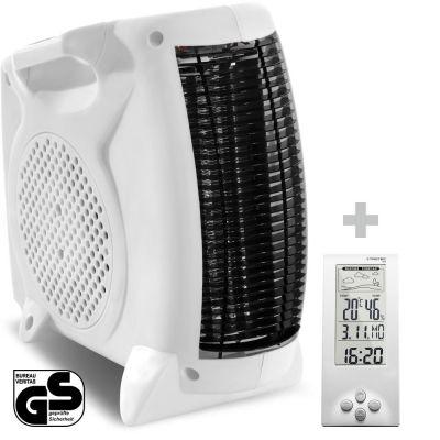 Soplador calefactor TFH 19 E + Termohigrómetro Estación Meteorológica BZ06