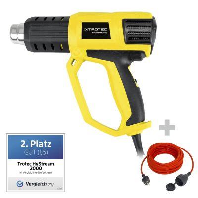 Pistola de aire caliente HyStream 2000 + Cable alargado de calidad 15 m